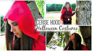 plaid shirt halloween costumes diy cerise hood halloween costume youtube