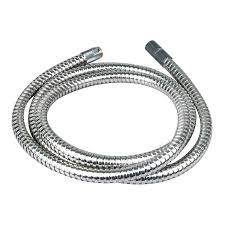 kitchen faucet hoses shop brasscraft 5 ft metal faucet spray hose at lowes com
