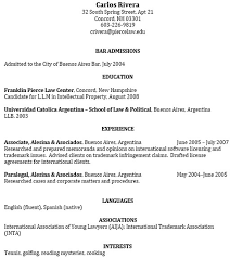 Attorney Resume Sample by Law Application Resume Format Resume Sample Before Sample