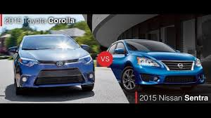 nissan sentra yahoo autos compare the 2015 toyota corolla to the nissan sentra wsoc tv