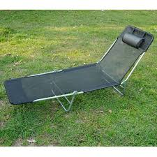 outsunny folding beach chaise lounge pool reclining chair
