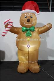 Decoration For Christmas Games by Inflatable Gingerbread Man Decoration For Christmas Day Buy