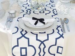 Navy Table L 60 Best Table Runners By Appleberry Attic Images On Pinterest