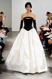 black and white wedding dress chic black wedding dress for the edgy martha stewart weddings
