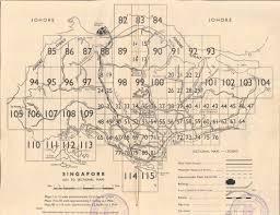 Map Of Singapore Map Of Singapore 50 Years Ago Singapore