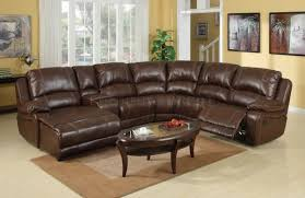 furniture recliner sectional leather reclining sectional