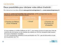 declaration auto entrepreneur chambre des metiers la protection sociale des professions indépendantes ppt télécharger