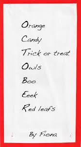 Halloween Poems Kindergarten Short Scary Poems Pictures Inspirational Pictures