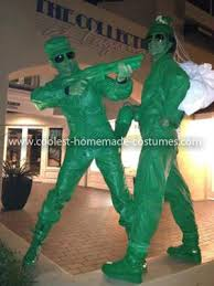 Army Soldier Halloween Costume Coolest Toy Story Army Soldiers Group Costume Homemade Toys