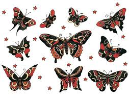 traditional butterfly drawing clipartxtras