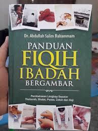 buku panduan be buku panduan fiqih ibadah bergambar toko muslim title