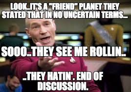 Meme Creator Upload - meme creator look it s a friend planet they stated that in no