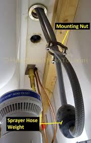 replacing a kitchen faucet sprayer faucet ideas