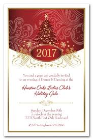 christmas party invitations tree swirls party invitations christmas invitations