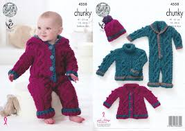 knitting pattern baby sweater chunky yarn king cole baby chunky knitting pattern cable knit sweater coat