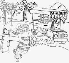 minion color clipart collection
