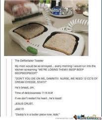 Jesus Crust Meme - jesus crust he s bread by kyoko meme center