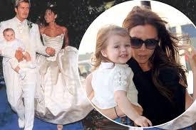 beckham wedding dress beckham reveals that she has saved wedding dress as a