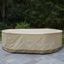patio table and chair covers furniture rectangular waterproof patio furniture covers home depot