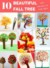 hello wonderful 10 beautiful fall tree art projects for kids