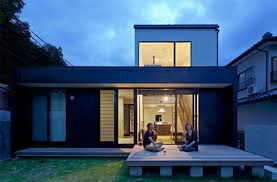 alluring modern japanese style house design comes with glass