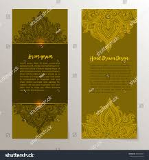 handdrawn abstract floral ethnic ornaments doodle stock vector
