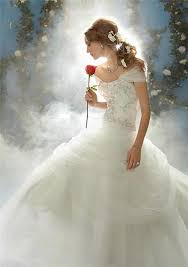 fairytale wedding dresses beauty and the beast wedding ideas