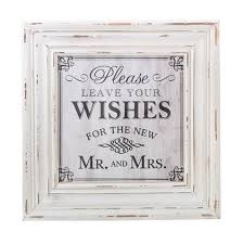 wedding wishes uk wedding wishes framed sign white