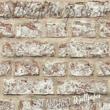 realistic brick wallpaper rustic brick wallpaper mural