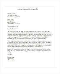 quit letter to boss letter idea 2018