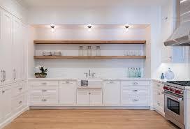 Glass Shelves Kitchen Cabinets Shelf Above Kitchen Sink Design Ideas