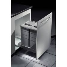 poubelle tri selectif cuisine poubelle tri sélectif 2 bacs capacité 58l hailo accessoires de cuisine