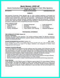 Construction Superintendent Resume Samples by Marketing Communication Specialist Resume Resumes U0026 Letters