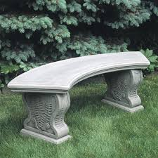 stone garden benches bench decoration