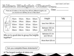 shoe size survey a year 5 tally u0026 frequency tables worksheet