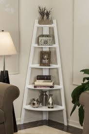 Tall Bookcase With Ladder by Best 25 Ladder Shelving Unit Ideas On Pinterest Ladder Shelves