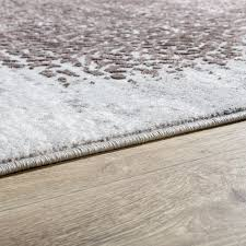 Teppich Schlafzimmer Beige Designer Teppich Wohnzimmer Kurzflor Teppich Florale Ornament