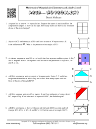 area problems rectangle triangle