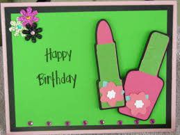 made by dawnica daughter u0027s birthday card