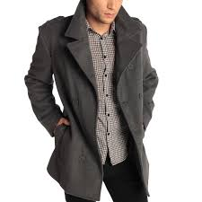 mens small pea coat sm coats