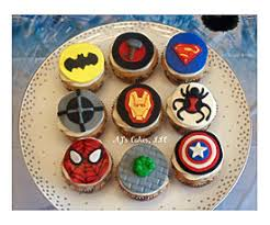 superhero cupcakes toppersi can also make toppers of your choice