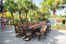 Swivel Patio Dining Chairs Pride Family Brands Grand Regent Swivel Patio Dining Chair With