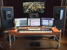studio keyboard desk composer u0027s desk u2014 matt locke