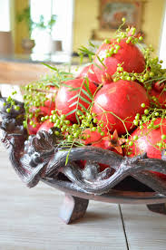 entertaining from an ethnic indian kitchen christmas centerpiece