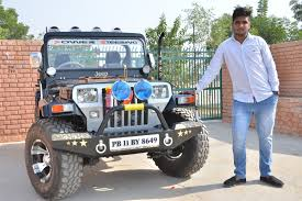 landi jeep jai durga jeep bazaar open modified jeeps