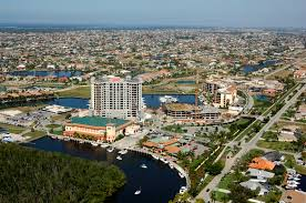 Map Of Cape Coral Fl The Marina At Cape Harbour In Cape Coral Fl United States