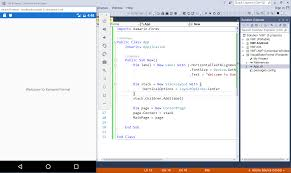Visual Studio Code Map Xamarin Forms Using Visual Basic Net Xamarin
