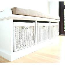 entryway bench with baskets and cushions entryway bench with baskets elkar club