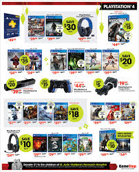 when is black friday ps4 gamestop u0027s black friday flyer is out nintendo ps4 xbox one and