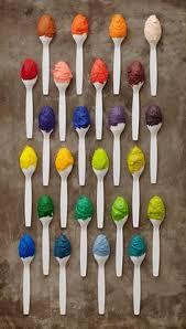 make brown food coloring brown food and cake